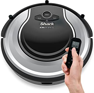 Shark ION Robot Dual-Action Robot Vacuum Cleaner with 1-Hour Plus of Cleaning Time, Smart Sensor Navigation and Remote Control (RV720)