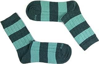 RUG39C Calcetines cortos, Gris (Gris/Verde 39), 36/41 (Tamaño del fabricante:M) para Mujer