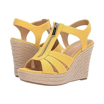 MICHAEL Michael Kors Berkley Wedge (Golden Yellow) Women