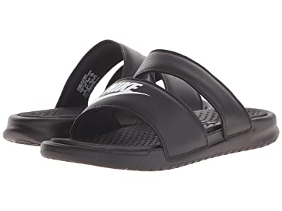 Nike Benassi Duo Ultra Slide (Black/White) Women