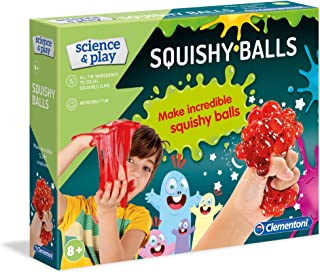 Clementoni 61896 Clementoni-61896-Science and Play-Crazy Squishy Ball-Science Toys-Laboratory and esperiment kit for Kids ...