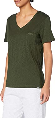 Superdry The Scripted V Neck Tee T-Shirt Femme