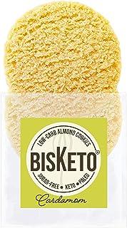 Low Carb Cookies BisKeto - Keto Snacks, Low Net Carbs, No Sugar, Gluten & Grain Free, Ketogenic Diet Friendly & Healthy Sn...