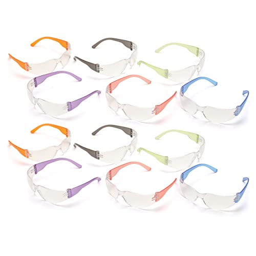 74a8faa0fa Pyramex Mini Intruder Youth Safety Glasses (12-Pack) - for Children or Women