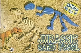 Dinosaur T-Rex Bones Sand Mold Jurassic Fossil 10 Pcs New