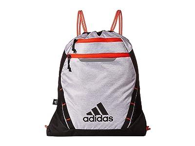 adidas Rumble III Sackpack (White Jersey/Black/Active Orange) Bags