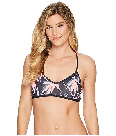 Carve Designs Stinson Bikini Top (Flamingo Palms) Women