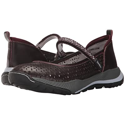 Jambu Bailey MJ (Eggplant Full Grain Leather) Women