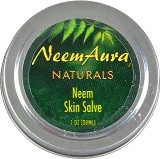 Neem Aura Neem Skin Salve - Natural - 1 Ounce (Pack of 2)