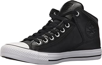 black converse mid top