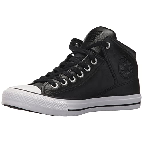 2bf7b710e7f9 Converse Women s Street Leather High Top Sneaker
