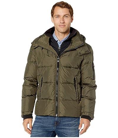 S13 Matte Downhill Puffer Jacket (Dark Military) Men