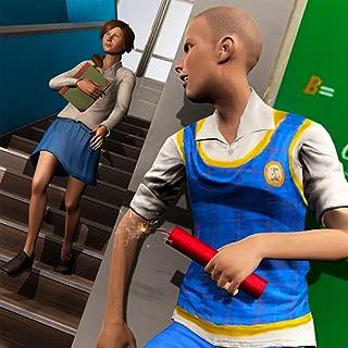 Bully Highschool Gangster : Hello Teacher Escape Game 3D