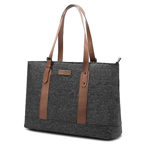 941be9c10cb0 Utotebag Women Laptop Tote Bag, 15.6 Inch Notebook Ultrabook Shoulder Bag  Lightweight Nylon Briefcase Classic