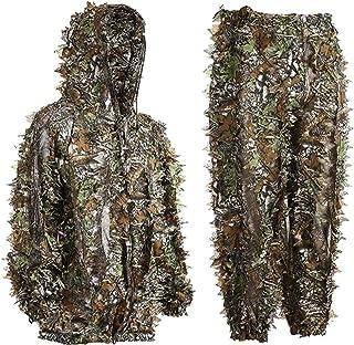 Bseical Ghillie dräkt, jaktkläder herrset, kamouflagekläder för män, kamouflage, jakt, skog, kamouflage, militär ghillie k...