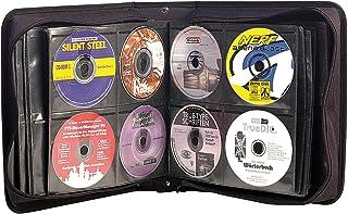 Xcase DVD Mappe: CD/DVD/BD-Tasche für 240 CD/DVD/BDs DVD Koffer