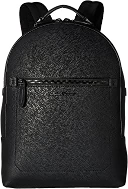 Salvatore Ferragamo - Firenze Black on Black Zaino - 240823