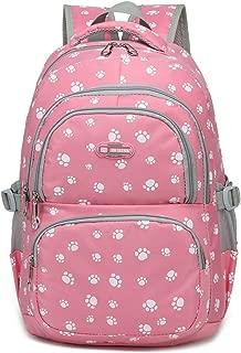 Girls School Bags for Kids Elementary School Backpacks Bookbags for Children (Pink 2)