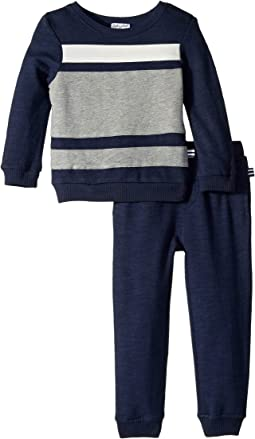 Color Block Sweatshirt Set (Toddler)