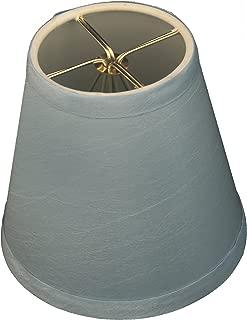 Royal Designs CS-1006-5BLU Clip On Empire Chandelier Lamp Shade, 3