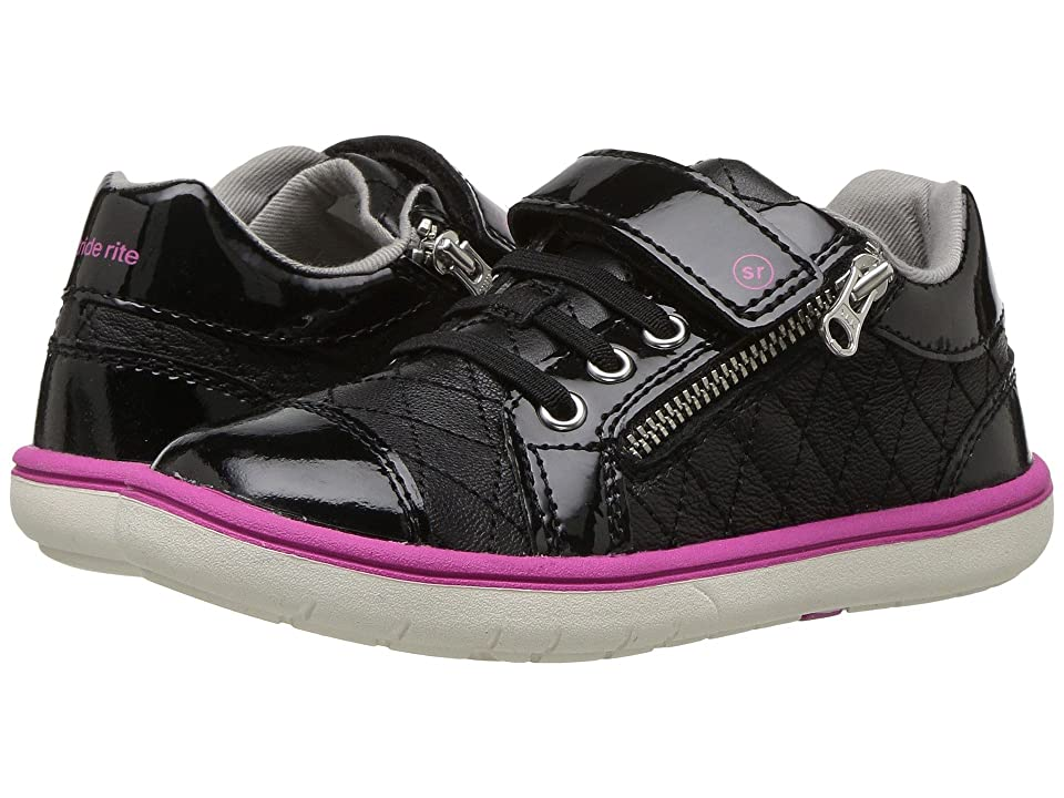 Stride Rite SRTech Olivia (Toddler/Little Kid) (Black) Girls Shoes