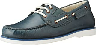 US Polo Association Men's Leather Boat Shoes