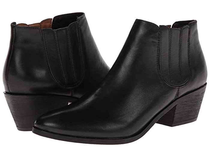 Joie  Barlow (Black Box Calf) Womens Pull-on Boots
