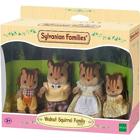 Sylvanian Families - 4172 - Famiglia Scoiattolo Nocciola