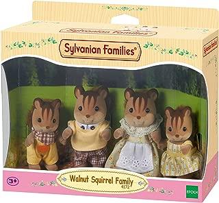 Sylvanian Families Walnut Squirrel Family,Figures