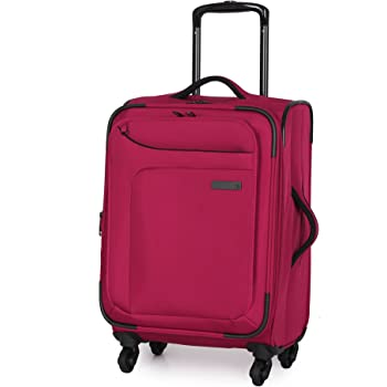 IT Luggage Mega-Lite Premium 22 Inch Carry On Red