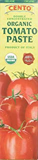 Cento Organic Double Concentrated Tomato Paste In a Tube, 4.56 Ounce (Pack of 12)