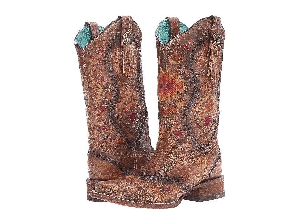Corral Boots C2915 (Cognac/Multicolor) Women