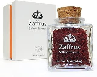 Zaffrus - Premium All Red Saffron Threads (7 gram / .246 oz)