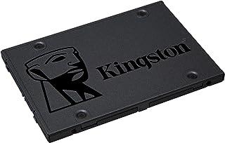 وسيط تخزين ذو حالة ثابتة داخلي من كينجستون / بحجم 480 جيجا A400 ساتا 3 2.5 طراز SA400S37/480 جيجا - بديل قرص صلب لزيادة ال...