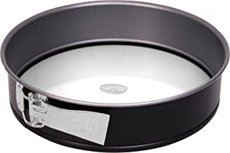 Dr. Oetker springform pan with Glass Base Ø 26 cm, Cake Mould with Non-Stick Coating, Round Coated Pie tin with Flat Base,...