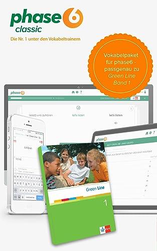 phase-6 Vokabelpaket zu Green Line 1 (bisherige Ausgabe) [Online Code]