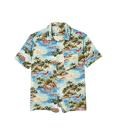 Faherty Kona Camp Shirt (Kapalua Bay) Men