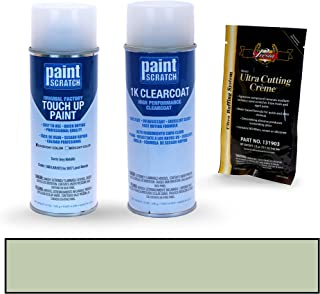 PAINTSCRATCH Corris Grey Metallic 1AB/LKH/873 for 2017 Land-Rover Evoque - Touch Up Paint Spray Can Kit - Original Factory OEM Automotive Paint - Color Match Guaranteed