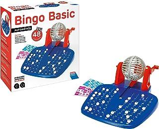Falomir- Bingo automático Mesa. Juego Clásico, 28 x 29 x 11 cm (27921)