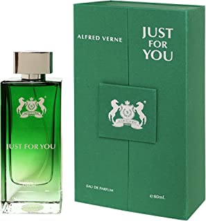 Alfred Verne Just For You Eau de Perfume For Unisex, 80 ml