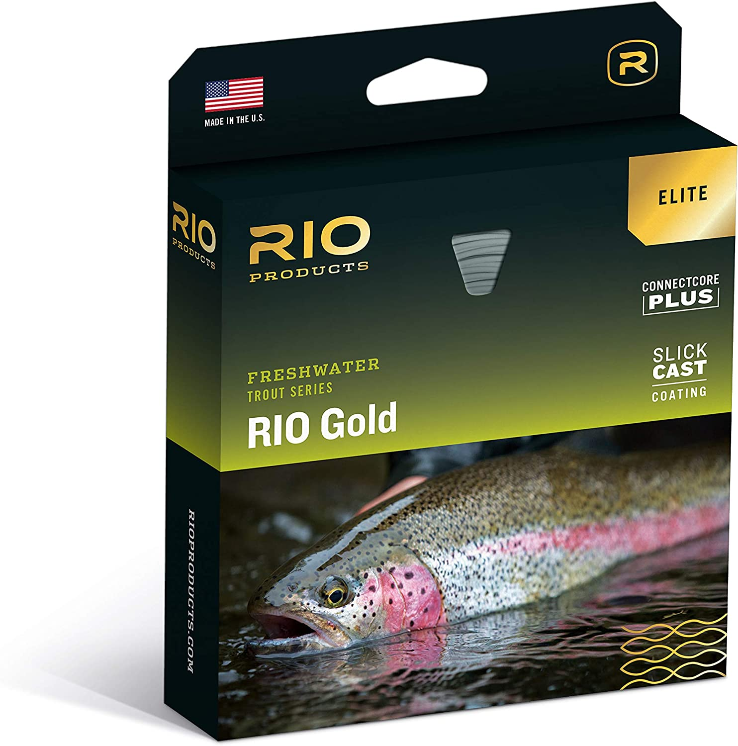 Our shop OFFers the best service RIO Special Campaign Elite Gold Freshwater Trout Marking SureFire Tricolor System