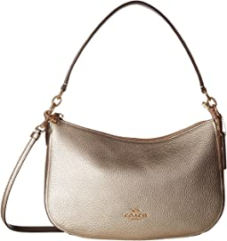 COACH - Metallic Leather Chelsea Crossbody