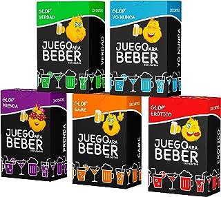 Glop 500 Cartas + Incluye App - Tragos Drinking Game for Latinos - Trago Game - Juegos para Beber - Games in Spanish - Jue...