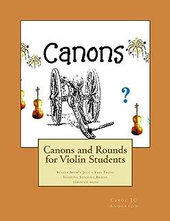 canon violin notes