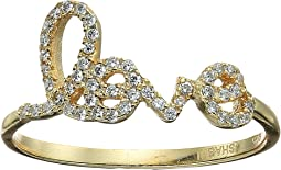 SHASHI - Pave Love Ring