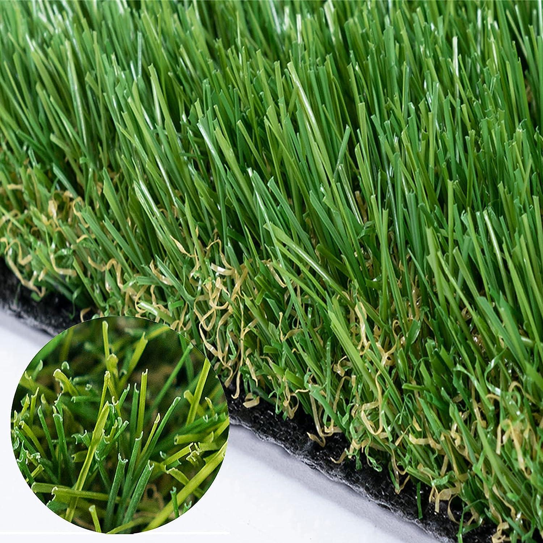 MTGRASS Artificial Jacksonville Mall Grass – Financial sales sale Premium Rug Outdoor Quality O