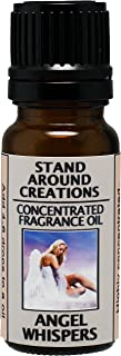 Concentrated Fragrance Oil - Scent - Angel Whispers: Notes of green leafy ferns w/sweet florals w/jasmine and white lily. Infused w/essential oil. (.33 fl.oz.)