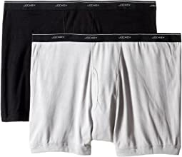 Big Man Cotton Boxer Brief 2-Pack
