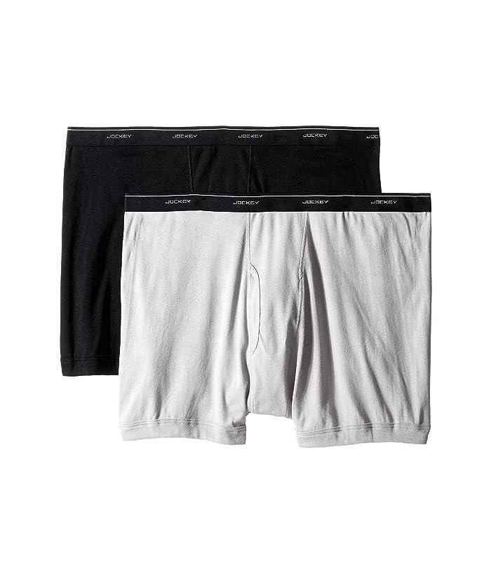 Jockey Big Man Cotton Boxer Brief 2 Pack