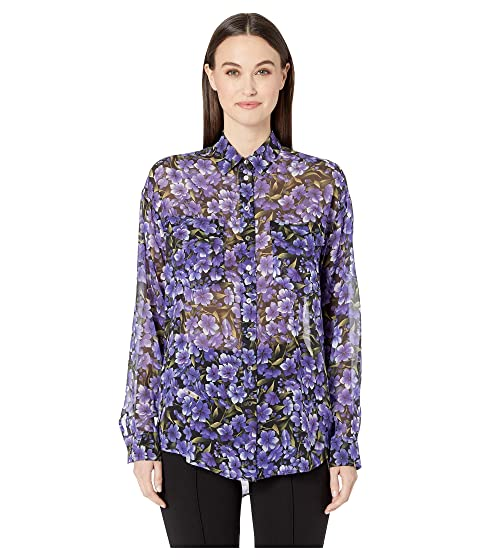 The Kooples Hydrangea Print Shirt